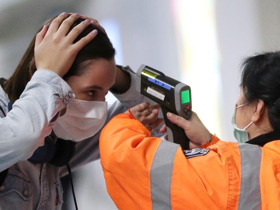 infrared temperature measurement device